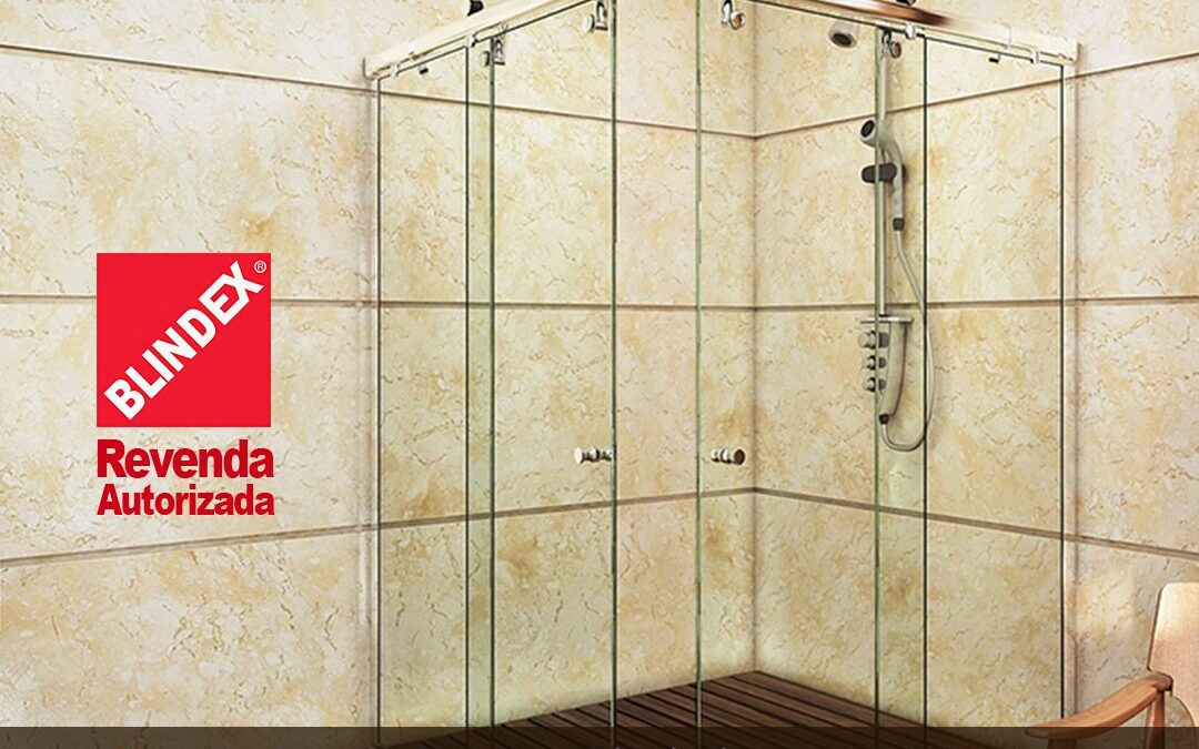 Kit de Box para Banheiro com vidros Blindex®